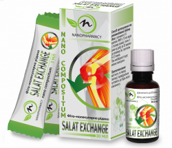 Nano compositum salt exchange